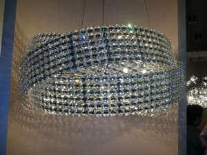 Diamante di sergio marchetti incandela luci illuminazione a led
