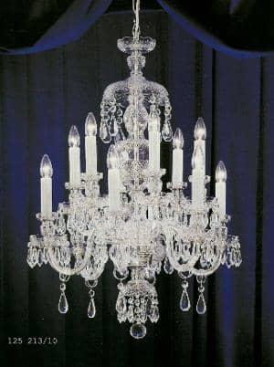 Lampadario in cristallo di Boemia Cristal Bohemian light ...